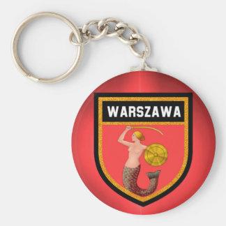 Chaveiro Bandeira de Varsóvia