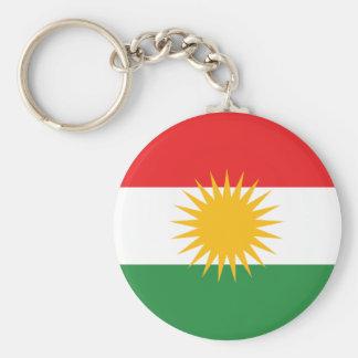 Chaveiro Bandeira do Curdistão; Curdo; Curdo