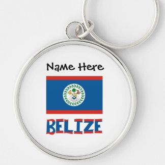 Chaveiro Bandeira e Belize belizences com nome