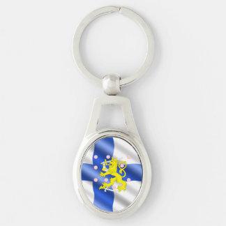 Chaveiro Bandeira finlandesa