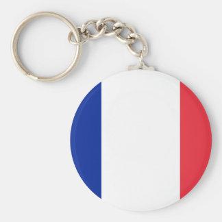 Chaveiro Bandeira francesa patriótica