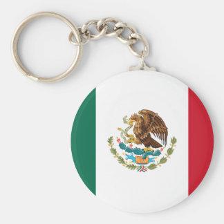 Chaveiro Bandeira mexicana patriótica