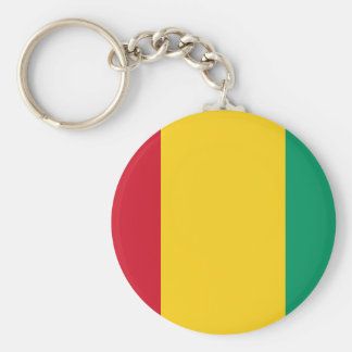 Chaveiro Bandeira nacional do mundo da Guiné