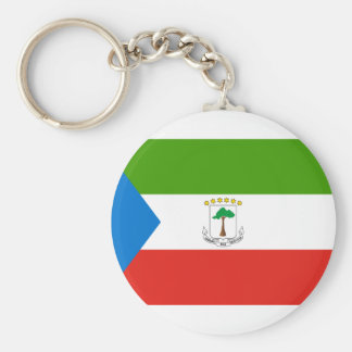 Chaveiro Bandeira nacional do mundo da Guiné Equatorial