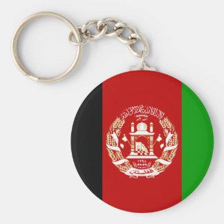 Chaveiro Bandeira nacional do mundo de Afeganistão