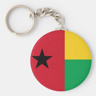 Chaveiro Bandeira nacional do mundo de Guiné-Bissau