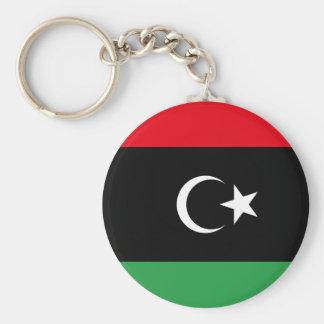 Chaveiro Bandeira nacional do mundo de Líbia