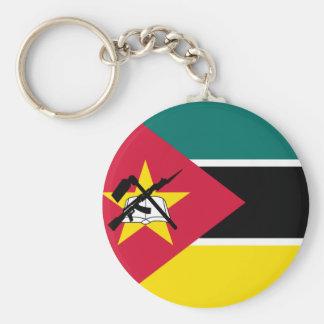 Chaveiro Bandeira nacional do mundo de Mozambique