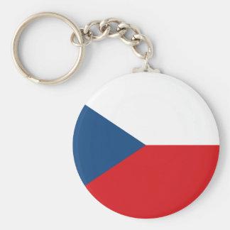 Chaveiro Bandeira patriótica da república checa