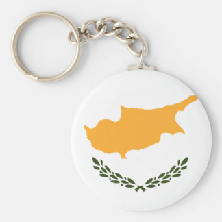 Chaveiro Bandeira patriótica de Chipre