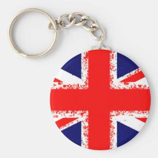 Chaveiro Bandeira Reino Unido de Londres do jaque de união