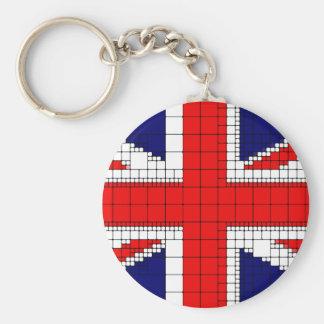 Chaveiro Bandeira Reino Unido do jaque de união patriótica