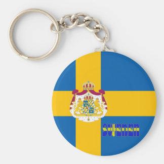 Chaveiro Bandeira sueco