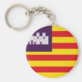 Chaveiro Bandera Islas Baleares - bandeira Balearic Island