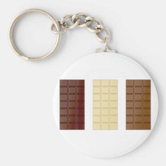 Chaveiro Bares de chocolate