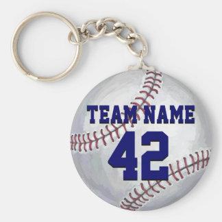 Chaveiro Basebol com nome e número