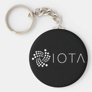 Chaveiro básico do IOTA (preto)