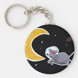 Chaveiro Básico - Mouse In Space