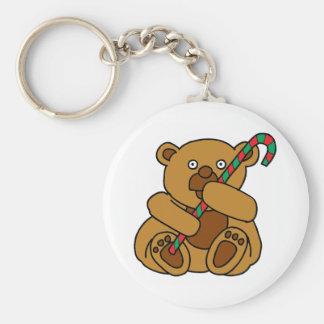 Chaveiro Bastão de doces do urso