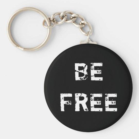 Chaveiro BE FREE - Pingente