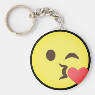 Chaveiro Beijo Emoji do correio aéreo