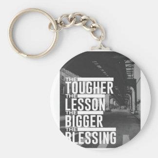 Chaveiro Bênção mais grande da lição mais resistente