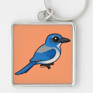 Chaveiro Birdorable Califórnia Esfregar-Jay