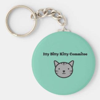Chaveiro Bitty do comitê do gatinho de Itty