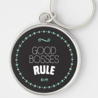 Chaveiro Boa regra dos chefes - preto
