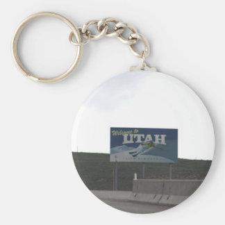 Chaveiro Boa vinda à corrente chave de Utá
