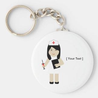 Chaveiro bonito da enfermeira 2