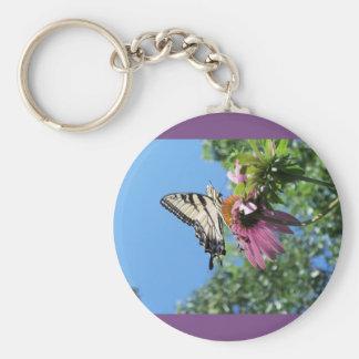 Chaveiro Borboleta (tigre Swallowtail)