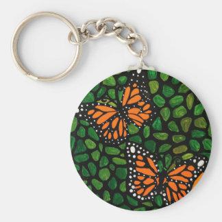 Chaveiro borboletas