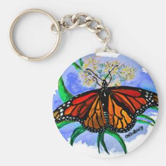 Chaveiro Borboletas de monarca