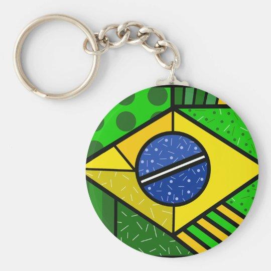 Chaveiro Brasil Brazil brazilian flag