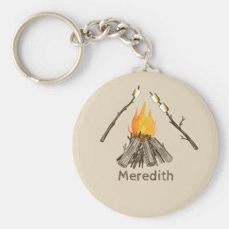 Chaveiro brindado da fogueira dos Marshmallows