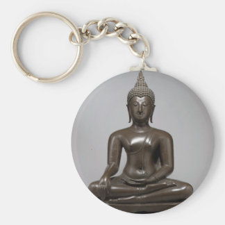 Chaveiro Buddha assentado - século XV