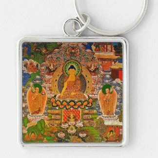 Chaveiro Budismo budista de Buddha que abençoa o Bohemian