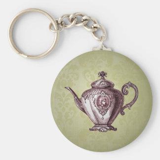 Chaveiro Bule do Victorian do vintage