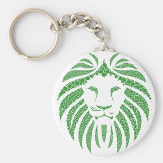 Chaveiro Cabeça verde do leão