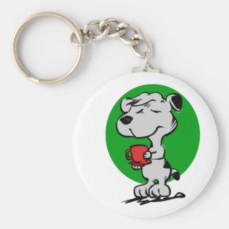 Chaveiro Café do bebendo do cão