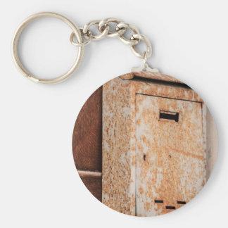 Chaveiro Caixa postal oxidada fora