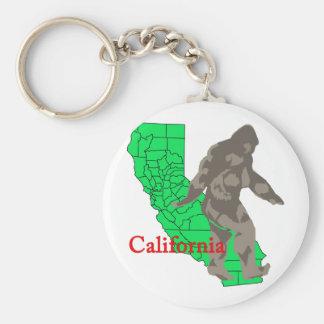 Chaveiro Califórnia bigfoot