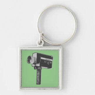 Chaveiro Câmera de filme 8 super do pop art