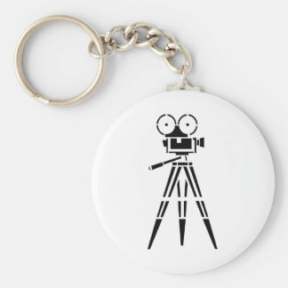 Chaveiro Câmera do plateau de filmagem do filme do vintage