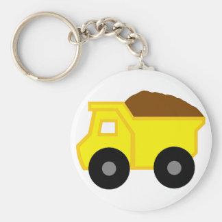 Chaveiro Camião basculante amarelo