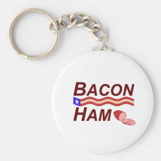 Chaveiro Campanha do presunto do bacon