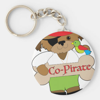 Chaveiro Cão do Co-Pirata