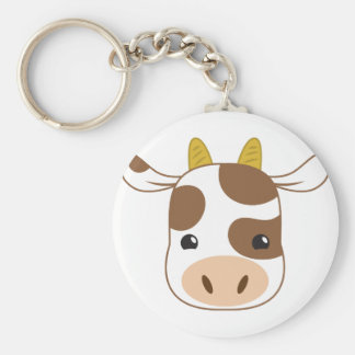Chaveiro cara bonito da vaca