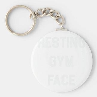 Chaveiro Cara de descanso do Gym